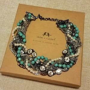 Chloe & Isabel ModernMuse Turquoise Pearl Necklace